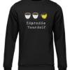 espresso yourself black sweater