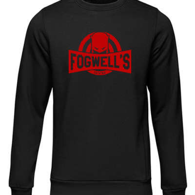 fogwells gym black sweater
