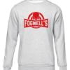 fogwells gym grey sweater