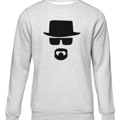 heisenberg 3 grey sweater