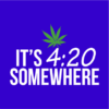 its 420 somewhere blue square