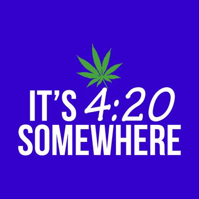 its 420 somewhere blue square