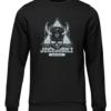 juicebubble skull black sweater
