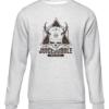 juicebubble skull grey sweater