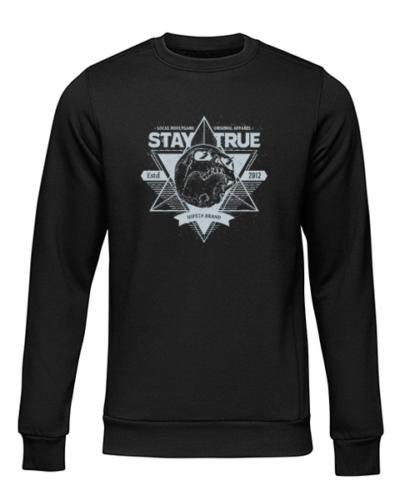 local hoolygans 1 black sweater