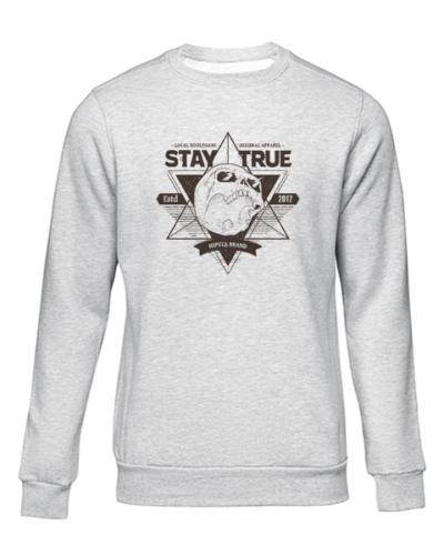 local hoolygans 1 grey sweater