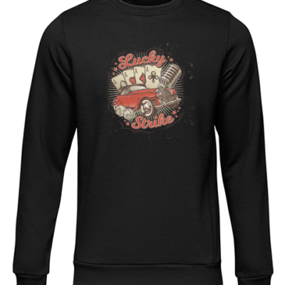 lucky strike black sweater