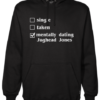 mentally dating jughead Black Hoodie jb