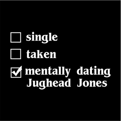 mentally dating jughead black square