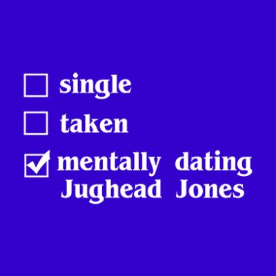 mentally dating jughead blue square