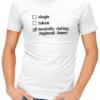 mentally dating jughead mens tshirt white