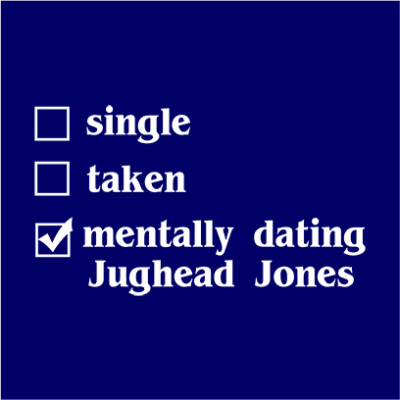 mentally dating jughead navy square
