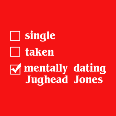 mentally dating jughead red square