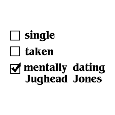 mentally dating jughead white square