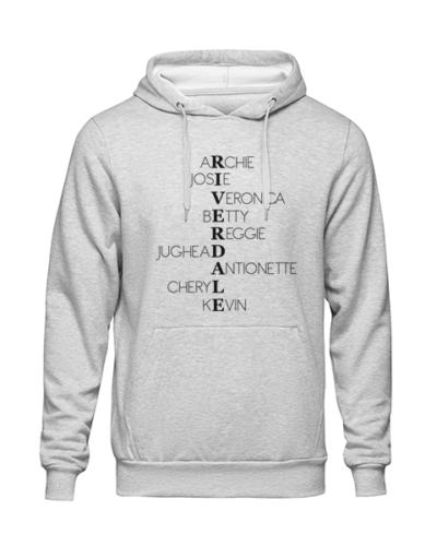 riverdale characters Grey Hoodie jb