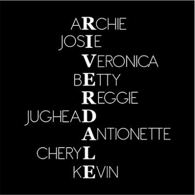 riverdale characters black square