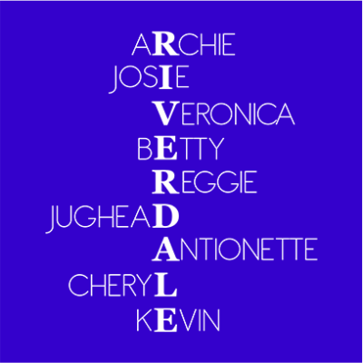 riverdale characters blue square