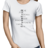 riverdale characters ladies tshirt white
