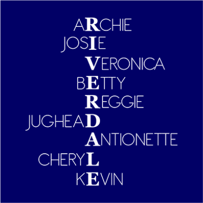 riverdale characters navy square