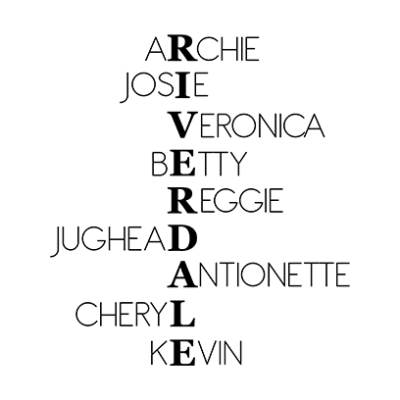 riverdale characters white square