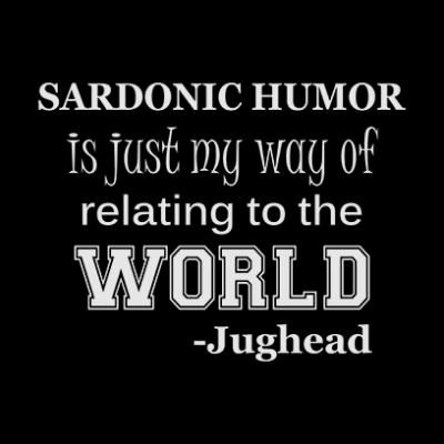 sardonic humor jughead black square