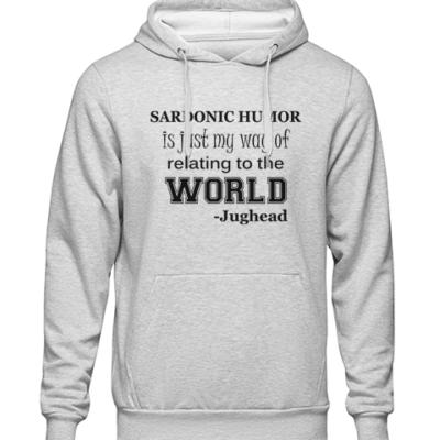 sardonic humor jughead grey hoodie