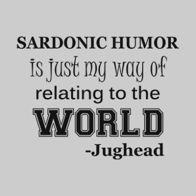 sardonic humor jughead grey square