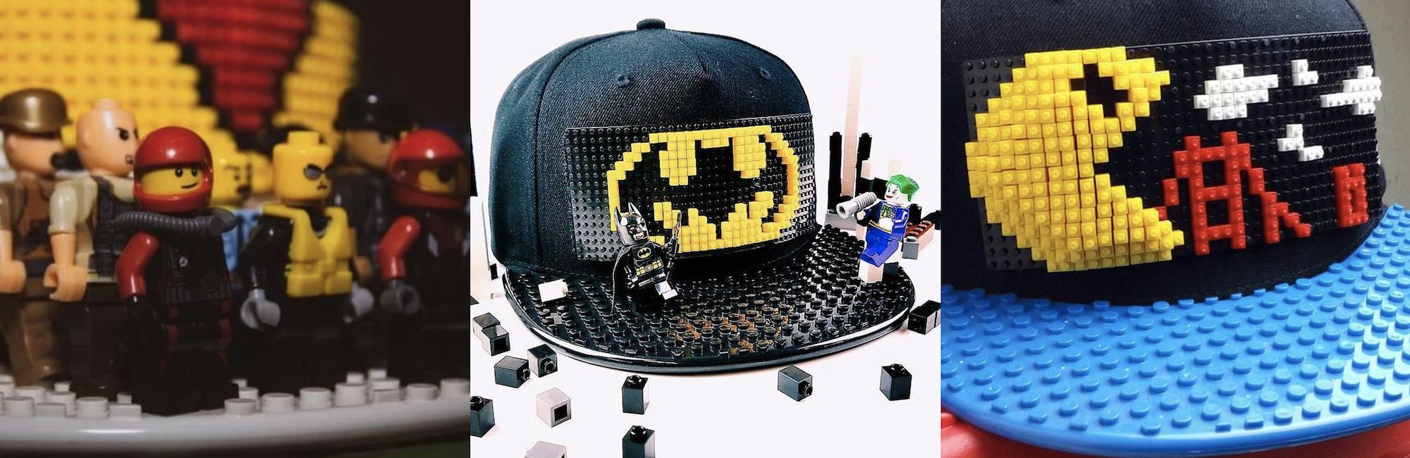 blockhead lego caps