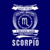 scorpio navy square
