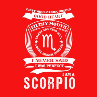 scorpio red square