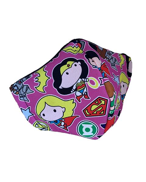 Superhero Face Mask – Design 4