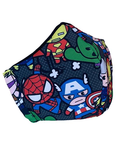 Superhero Face Mask – Design 3