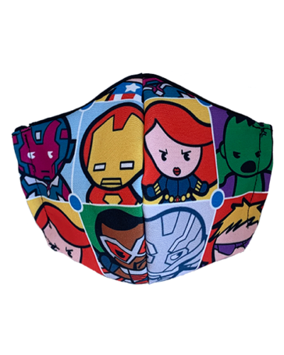 marvel superhero face mask design 01