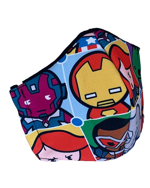 Superhero Face Mask – Design 1