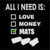 All i need is mats black square