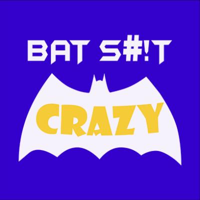 bat crazy blue square