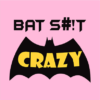 bat crazy pink square