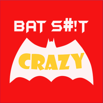 bat crazy red square