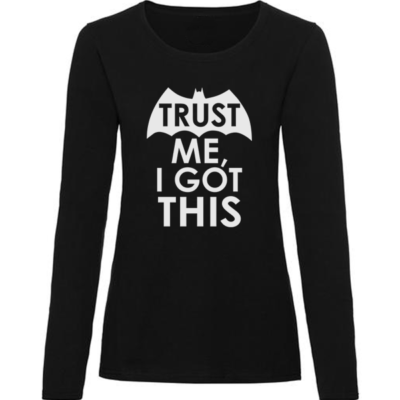 i got this ladies black long sleeve