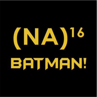 na 16 batman black square