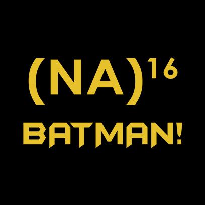 na 16 batman black square