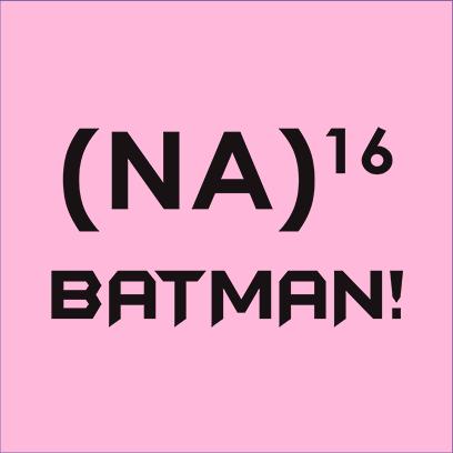 na 16 batman pink square