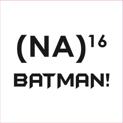 na 16 batman white square
