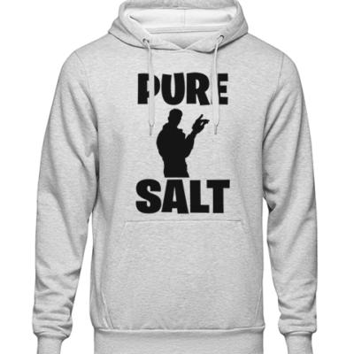 pure salt Grey Hoodie