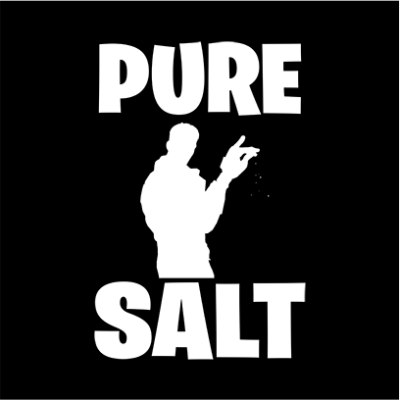 pure salt black square