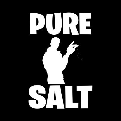 pure salt black square