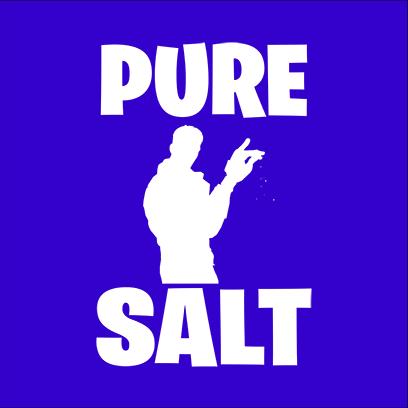 pure salt blue square