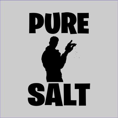 pure salt grey square