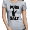 pure salt ladies tshirt grey