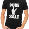 pure salt mens tshirt black